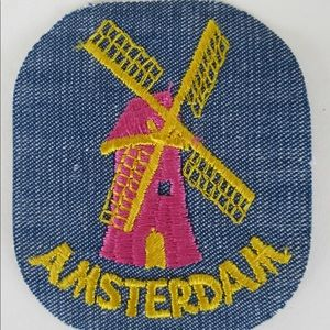 Accessories - 70's deadstock Amsterdam iron on patch